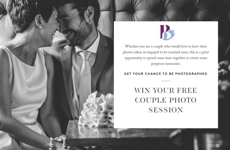 Win Your FREE Couple Photo Session With Me!