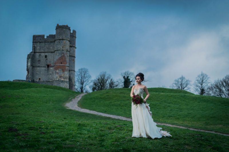 'Game of Thrones' Bridal Inspiration in Berkshire